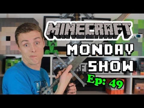 Minecraft Monday Show - 49: Xbox, Secrets, GDC, News & SWORDS! Music Videos