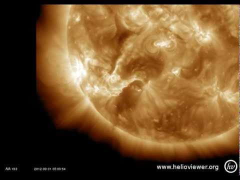 Large Filament Eruption (8/31/2012)