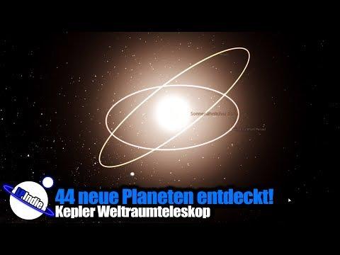 44 Neue Planeten entdeckt
