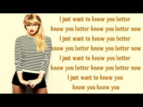 Everything Has Changed Taylor Swift Ft. Ed Sheeran (lyrics) video