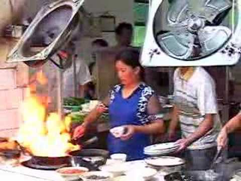 0 Fast Food Cooking in China