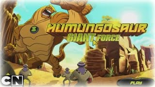 BEN 10 OMNIVERSE | HUMUNGOUSAUR GIANT FORCE - Baby Game & Children Games For 2014