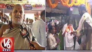 Devi Navaratri Utsavalu In Vijayawada | Lord Durga Appears In Annapurna Devi Avatar
