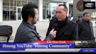 Hmoob Tebchaws / Hmong State Development Association Press Release 03- 19-2018