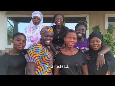 Ghana Girls Coffee Challenge