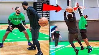 Kyrie Irving 1-on-1 against his Boston Celtics teammates