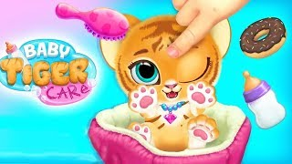 Baby Tiger Care - My Cute Virtual Pet Friend - Play Fun Spa, Dress Up, Babysitter Care Fun Kids Game