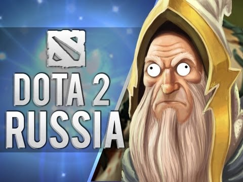 Blending in with the Russians (Dota 2)