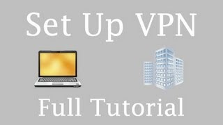 How to set up a VPN Server on Windows Server 2012