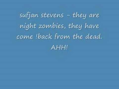 Sufjan Stevens - They Are Zombies