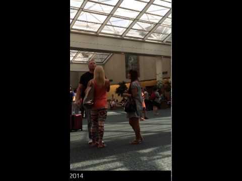 Saori Meets Brock Lesnar & Sable At Orlando Airport - #brocklesnar #sable #wwe #wrestling #thele video