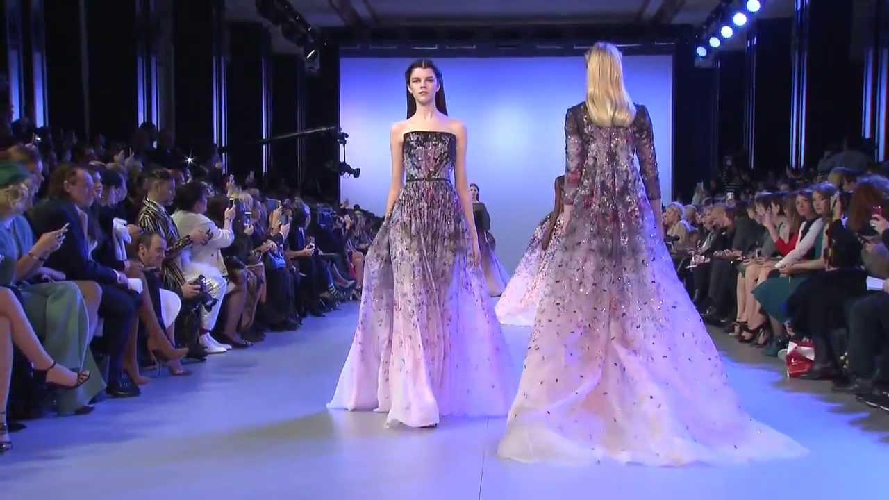 Fashion Show Haute Couture 2014 ELIE SAAB Haute Couture Spring