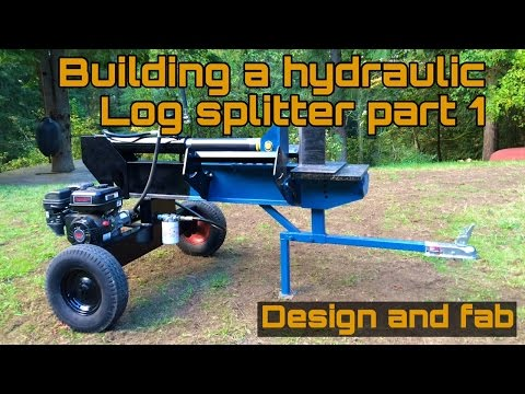 Homemade Log splitter part 1