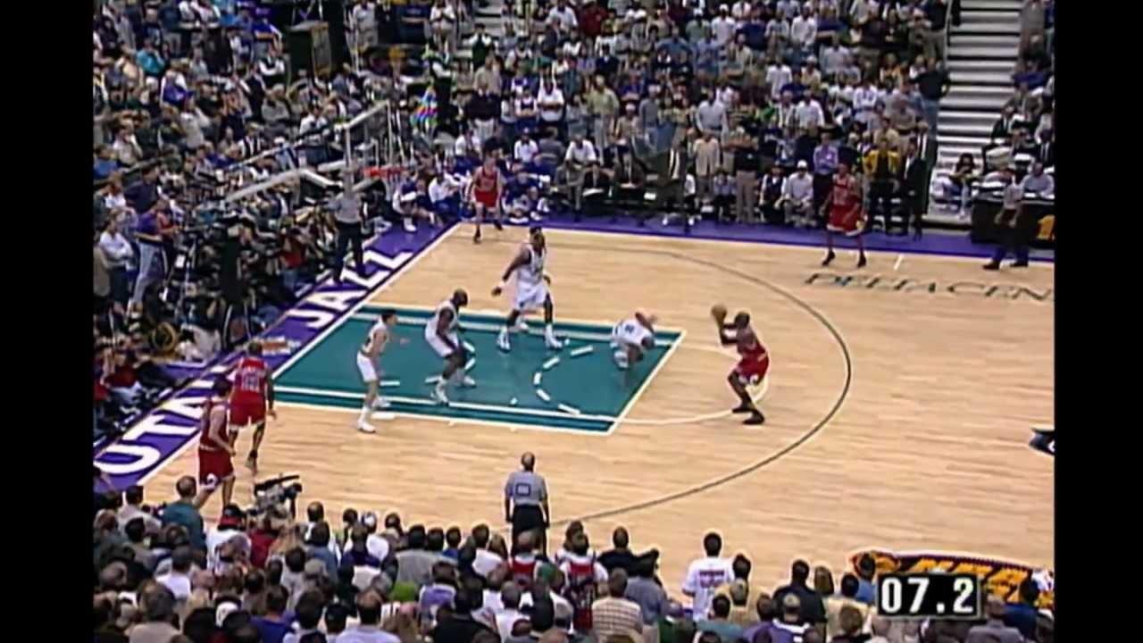 Michael Jordan's Last Shot HD - YouTube