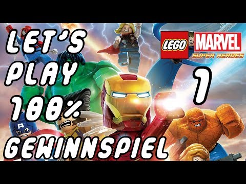 Let's Play Lego Marvel Super Heroes German Part 1 - 100% - Gewinne das Spiel [Deutsch][Walkthrough]