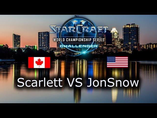 Scarlett VS JonSnow - Ro8 - ZvZ - NA Qualifiers WCS Austin 2018 - polski komentarz