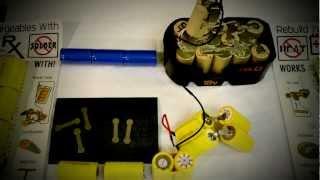 NiCad Battery Rebuild Instructions