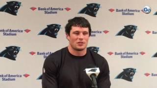 Panthers star Luke Kuechly on Clemson alum Ben Boulware