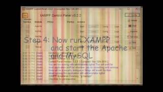 How to run your .html file using XAMPP (step by step)