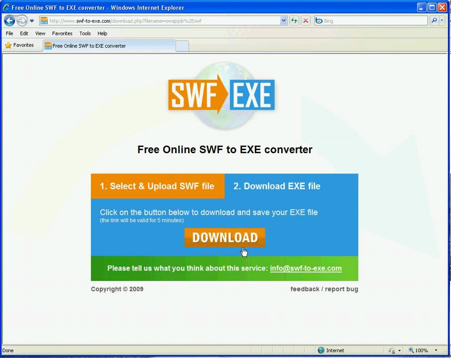online convert exe file into pdf