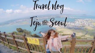 KOREA TRAVEL VLOG - MY TRAVEL GUIDE TO JEJU & SEOUL - SPRING TIME APRIL 2017