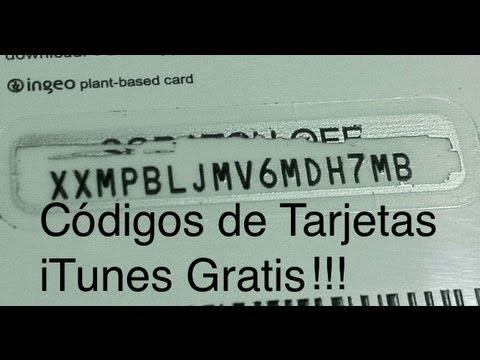 Códigos de Tarjetas de Regalo iTunes Gratis (Tutorial)