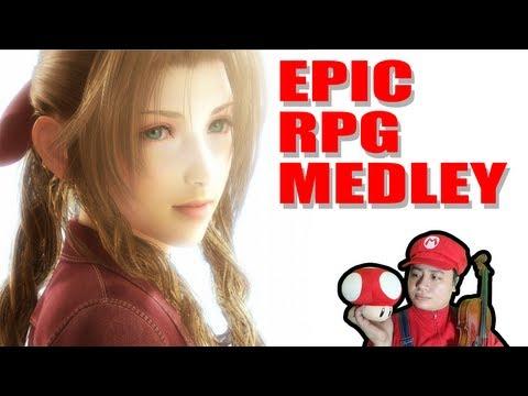 La orquesta de los Mini Marios tocando temas de videojuegos RPG clásicos