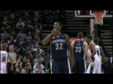 Grizzlies  ( OJ Mayo 27 points) Highlights vs Spurs 12.18.2010