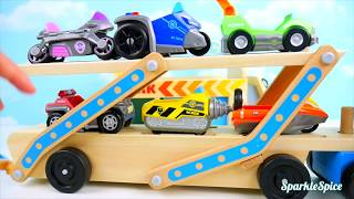 Best Learn Colors Video with Paw Patrol Sea Patroller Surprise Eggs Chase Skye Vehicle Sparkle Spice