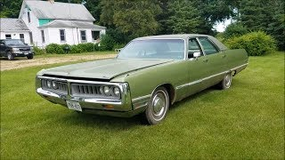 1972 Chrysler Newport Walk Around and Drive