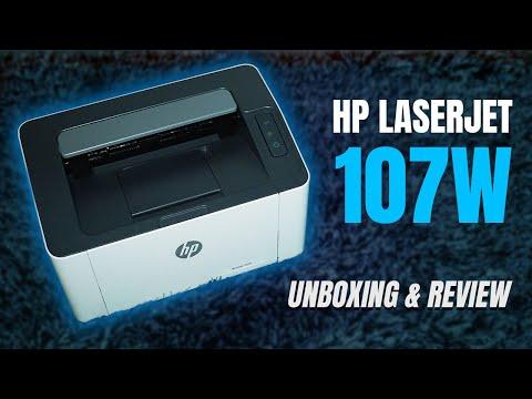 Imprime rápido y fácil, HP Laser 107W: Unboxing & Review