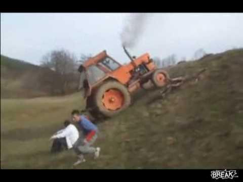 Senzatii tari cu tractorul