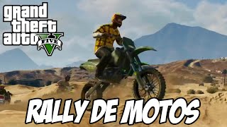 GTA V - Rally de Motos no Canyon