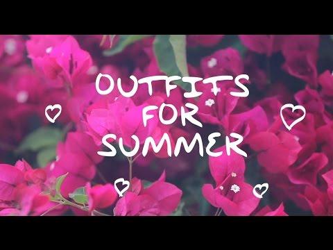 OUTFITS FOR SUMMER / НАРЯДЫ НА ЛЕТО / ЛЕТНИЙ ГАРДЕРОБ / OOTD / LOOKBOOK