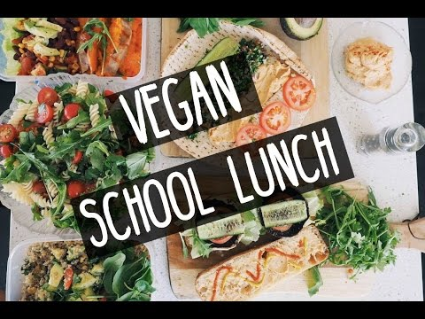 VEGAN SCHOOL LUNCH IDEAS || Healthy & Filling