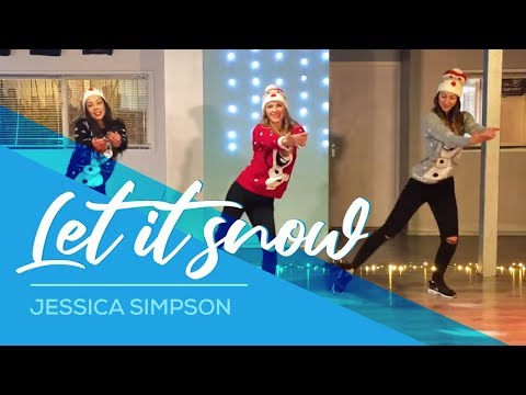 Christmas Dance - Baile de Navidad - Let it Snow - Jessica Simpson - Easy Fitness Dance 2016