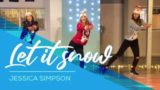 Christmas Dance - Baile de Navidad - Let it Snow - Jessica Simpson - Easy Fitness Dance 2016