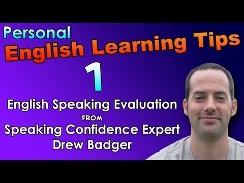English Speaking & Fast Fluency Tips 1 – English Speaking Evaluation – English Listening Practice