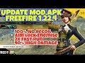 Update Mod.Apk FreeFire 1.22.4 V.1 | 2x Fast Run, No Recoil, High Damage, No Game Guardian