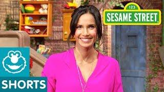 Sesame Street: Padma Lakshmi's Joke | #ShareTheLaughter Challenge
