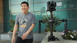 Magnetic Camera Gimbal!? Is this the future of stabilization? | Steadycross