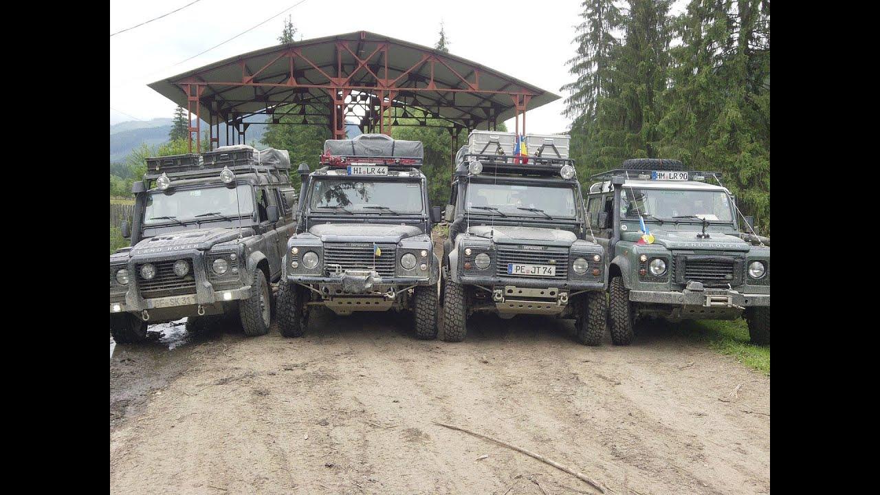 Romania 2013 Karpaten Offroad Adventure Im Land Rover