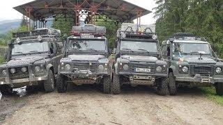 Romania 2013 - Karpaten Offroad Adventure im Land Rover Defender