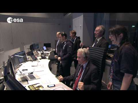 Highlights: Rosetta mission comet landing up to lander separation