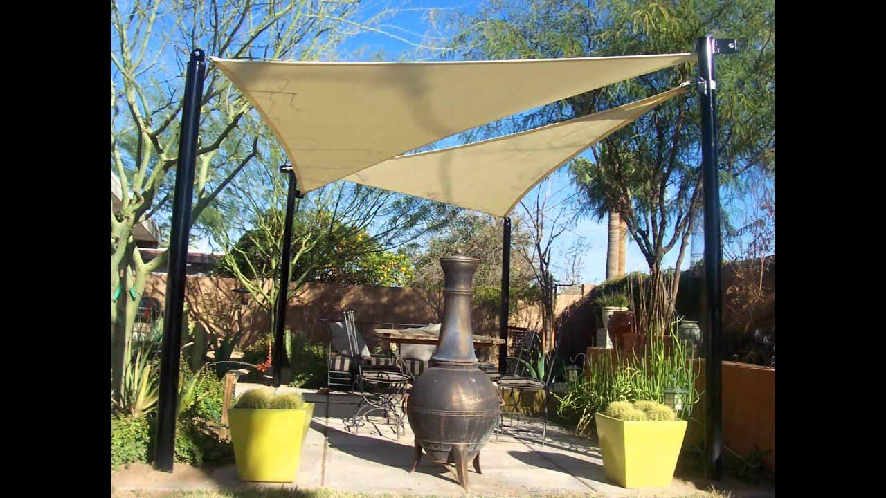 Shade Sails In Phoenix Arizona By Shade Masters Youtube