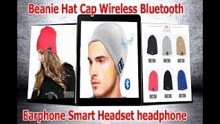 Beanie Hat Cap Wireless Bluetooth Earphone Smart Headset headphone