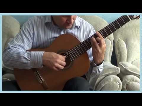 Профессионал, Chi mai guitar cover
