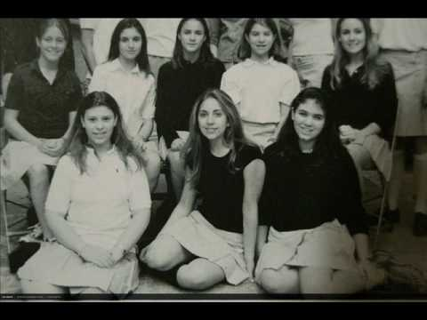 Lady GaGa Young in Her Teens high school yearbook