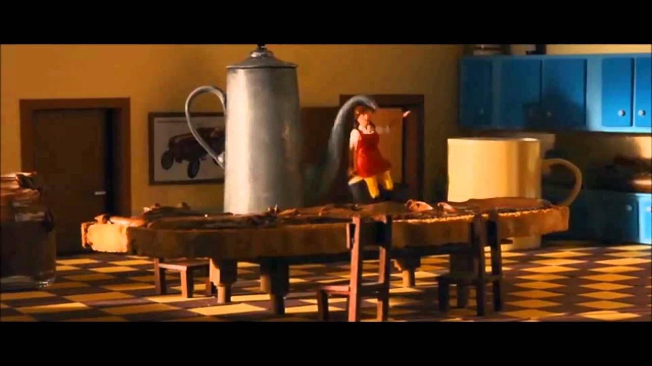 Not Toast >> A Town Called Panic - Steven eating toast (English Subtitles) - YouTube