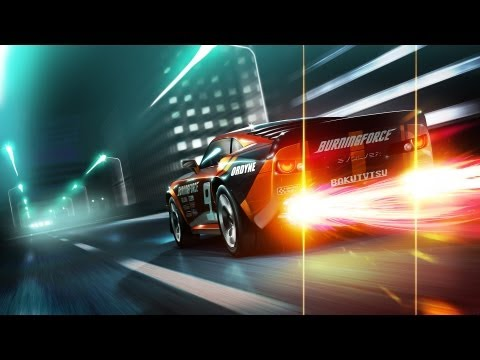 Video Game Music Video - Night Drive
